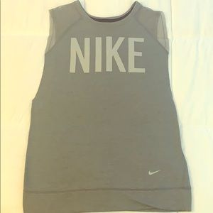Nike sleeveless summer sweatshirt Sz M.